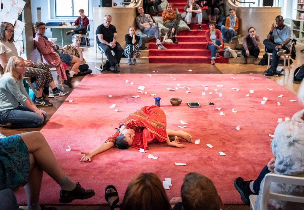 Charlie Ashwell, Banishing Dance, photo Ben Gilbert